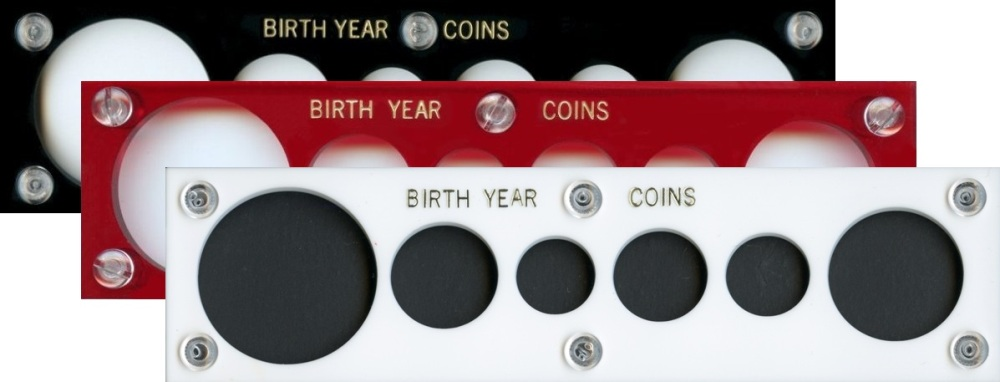 Capital Plastic Coin Holders Birth Year Holders Jake S