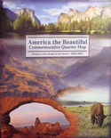 Littleton American The Beautiful National Park Quarter Map